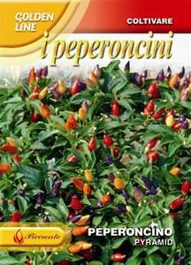 Bilde av Chilipepper 'Pyramid' -  Capsicum frutescens