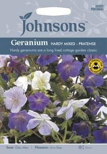 Bilde av Storkenebb, eng 'Mixed' - Geranium pratense