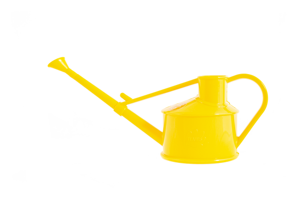 Vannkanne, Haws mini - plast, gul