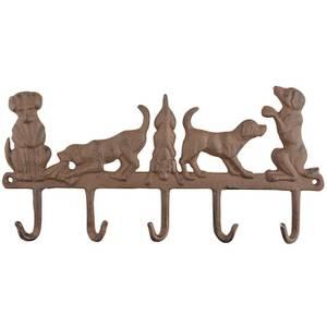 Bilde av Knaggrekke 5 kroker - hunder