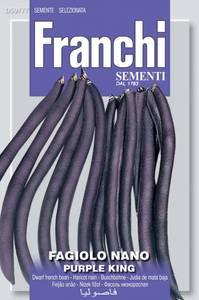 Bilde av Bønne 'Purple King' - Dvergaspargesbønne