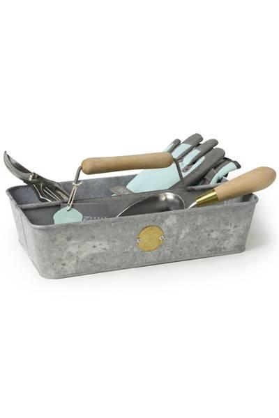 SC kasse til hageutstyr - galvanisert