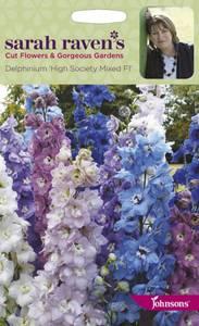Bilde av Ridderspore 'Hight Society Mixed F1' - Delphinium