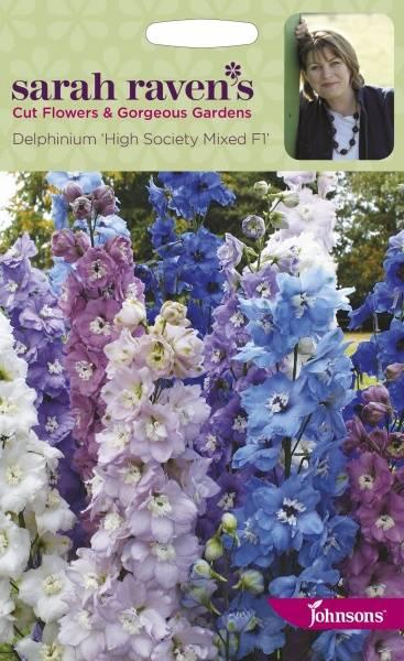 Ridderspore 'Hight Society Mixed F1' - Delphinium