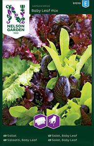 Bilde av Salat Baby Leaf Mix, frøbånd - Lactuca