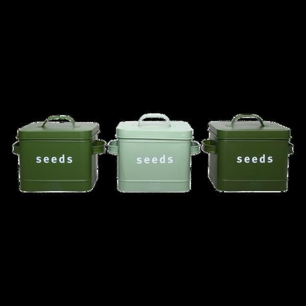 Frøboks seeds, mintgrønn