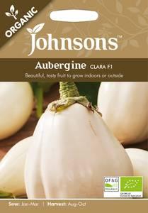 Bilde av Aubergine 'Clara' F1 - Solanum melongena - Organic