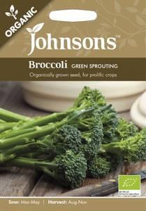 Bilde av Brokkoli 'Green Sprouting' - Organic