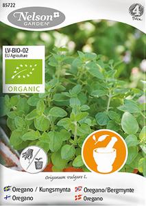Bilde av Oregano - Origanum vulgare, Organic